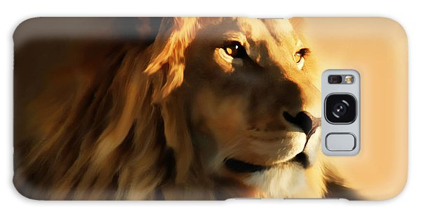 King Lion Of Africa Galaxy Case