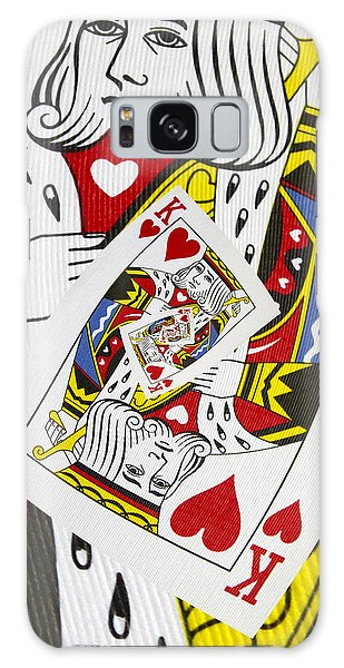 King Of Hearts Collage Galaxy Case