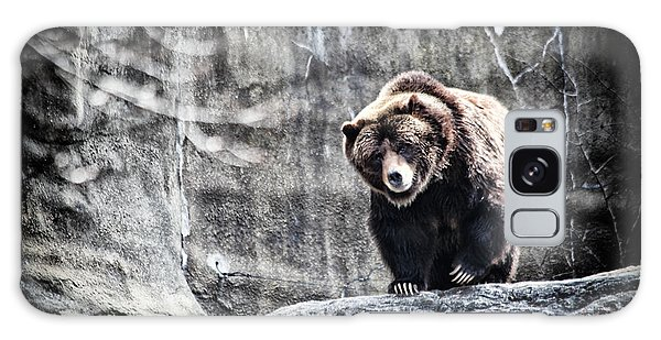 Grizzly Bears Galaxy Case - King Of The Hill by Karol Livote