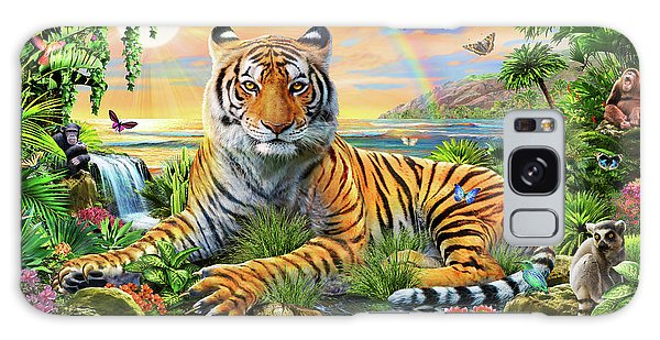 Waterfall Galaxy Case - King Of The Jungle by MGL Meiklejohn Graphics Licensing