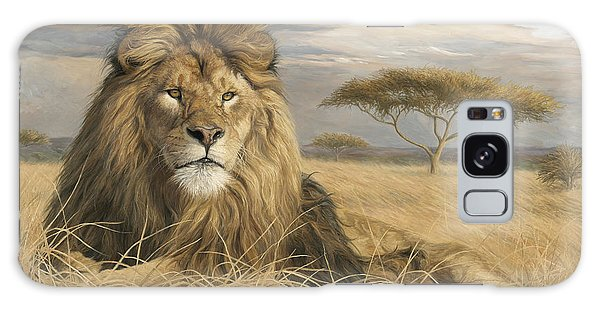 Lion Galaxy Case - King Of The Pride by Lucie Bilodeau