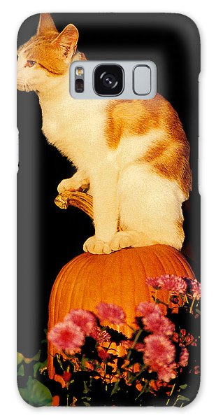 King Of The Pumpkin Galaxy Case by Peg Urban