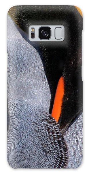 King Penguin Galaxy Case by Ramona Johnston