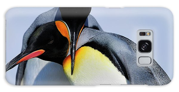 King Penguins Bonding Galaxy Case