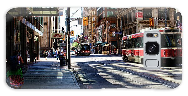 King Street East Galaxy Case by Nicky Jameson