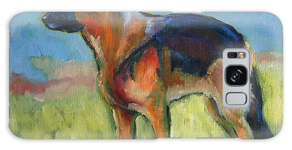 King The German Shepherd Dog Galaxy Case