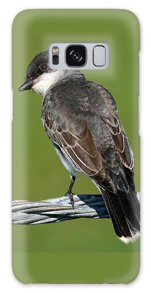 Kingbird On A Wire Galaxy Case