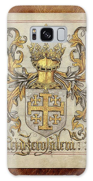 Kingdom Of Jerusalem Medieval Coat Of Arms  Galaxy Case
