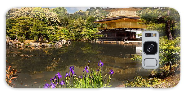 Galaxy Case featuring the photograph Kinkaku-ji by Brad Brizek