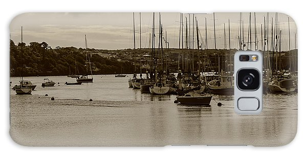 Kinsale Harbor At Dusk Galaxy Case