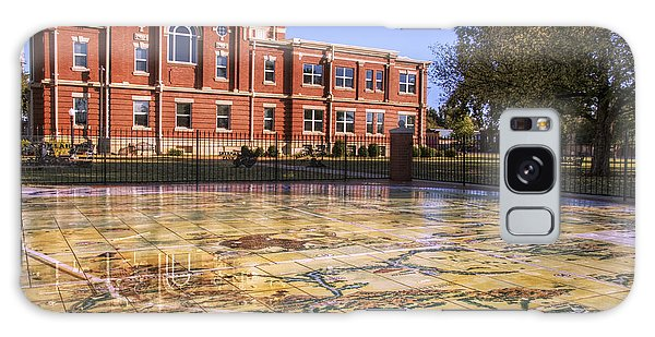 Kiowa County Courthouse With Mural - Hobart - Oklahoma Galaxy Case