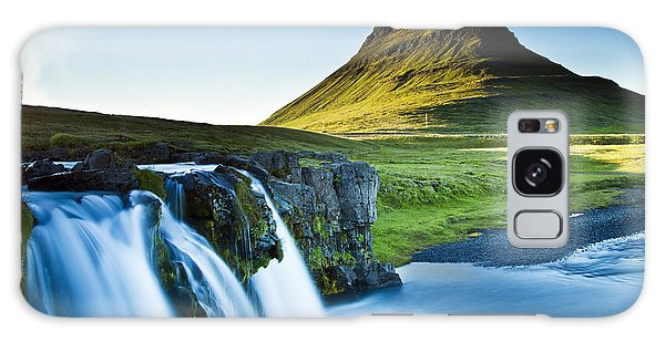Kirkjufell Mountain Galaxy Case by Gunnar Orn Arnason