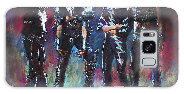 Kiss Galaxy Case by Viola El