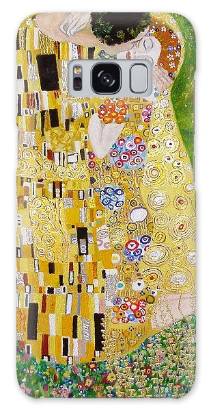 Kiss G.klimt Galaxy Case by Nina Mitkova