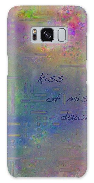 Kiss Of Mist Haiga Galaxy Case