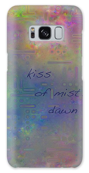 Kiss Of Mist Haiga Galaxy Case
