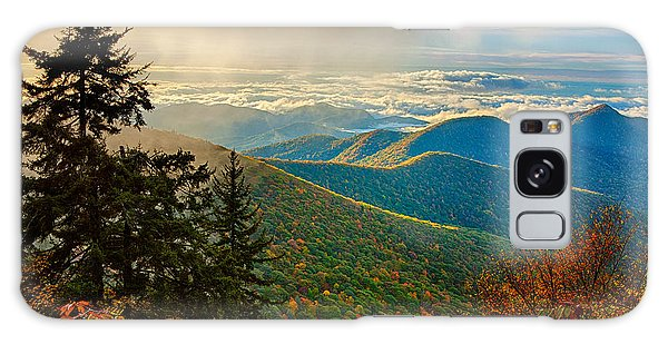 Kiss Of Sunshine - Blue Ridge Mountains I Galaxy Case