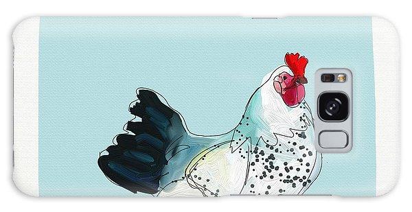 Animals Galaxy Case - Kitchen Chicken by Cathy Walters