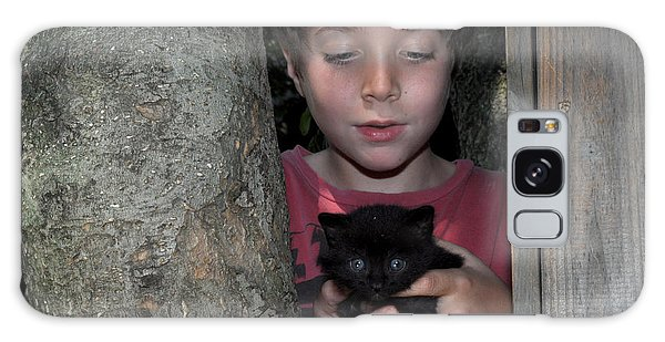 Kitten And Child Galaxy Case