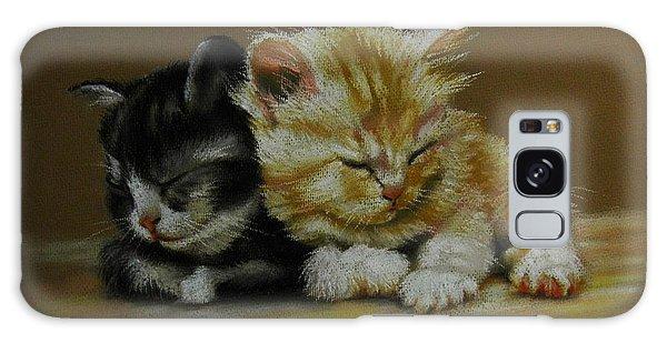 Kittens Asleep Galaxy Case