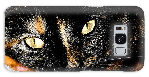 Kitty Face Galaxy Case
