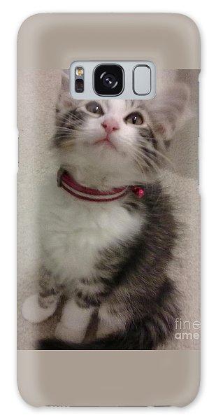 Kitty - Forgotten Innocence Galaxy Case by Barbara Yearty