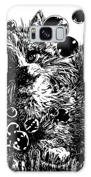 Kitty Galaxy Case by Shabnam Nassir