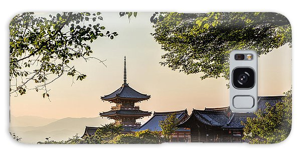 Kiyomizu-dera In Kyoto Japan Galaxy Case