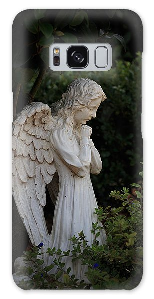 Kneeling Angel Galaxy Case