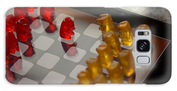 Knight Takes Pawn Galaxy Case