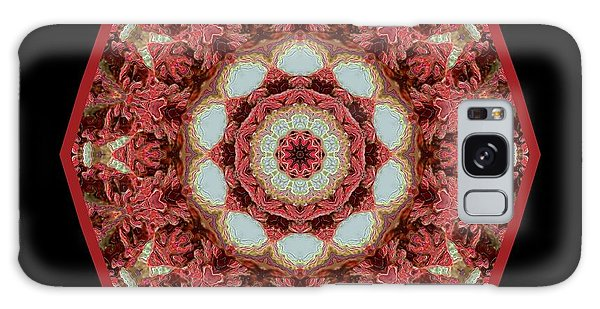 Knotty Twists Kaleidoscope Galaxy Case by Aliceann Carlton
