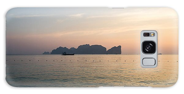 Phi Phi Island Galaxy Case - Ko Phi Phi Leh Island At Sunset - Thailand by Matteo Colombo