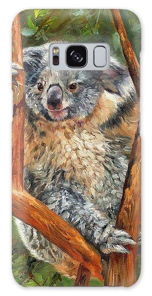 Koala Galaxy Case - Koala by David Stribbling