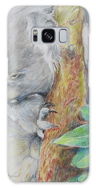 Koala Nap Time Galaxy Case