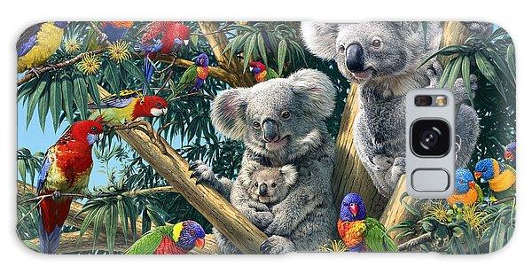 Koala Galaxy Case - Koala Outback by Steve Read