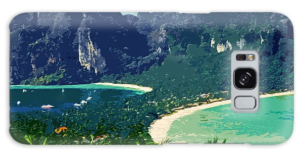 Phi Phi Island Galaxy Case - Koh Phi Phi ... by Juergen Weiss