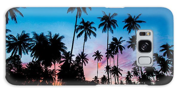 Koh Samui Sunrise Galaxy Case by Mike Lee