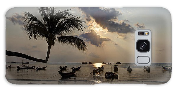 Koh Tao Sunset Galaxy Case by Alex Dudley