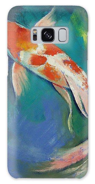 Collectibles Galaxy Case - Kohaku Butterfly Koi by Michael Creese