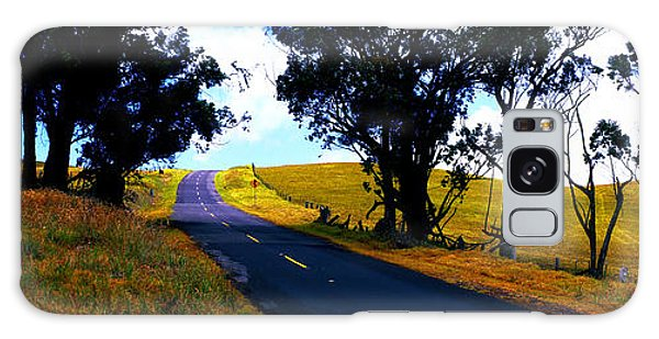 Kohala Mountain Road  Big Island Hawaii  Galaxy Case