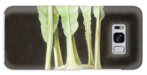 Kohl Rabi, 2012 Acrylic On Canvas Galaxy Case
