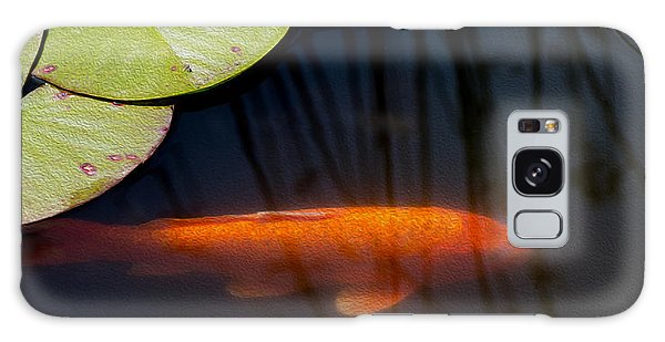 Koi And Lily Pads Galaxy Case