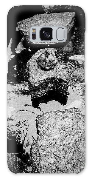 Koi Around The Old Stone Path Galaxy Case