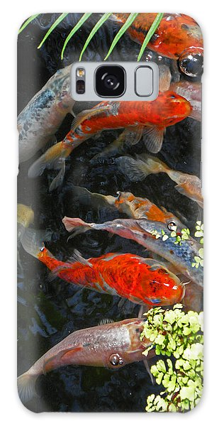 Koi Fish I Galaxy Case
