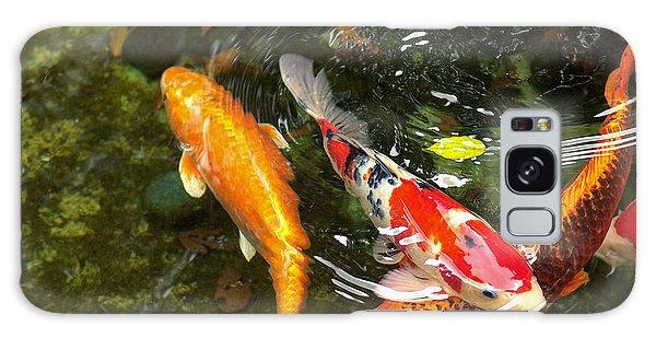 Koi Fish Japan Galaxy Case by John Swartz
