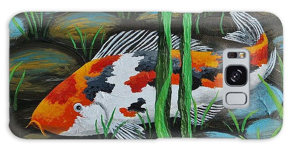 Koi Fish Galaxy Case by Katherine Young-Beck