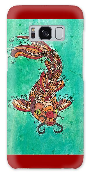 Koi Fish Galaxy Case by Susie Weber