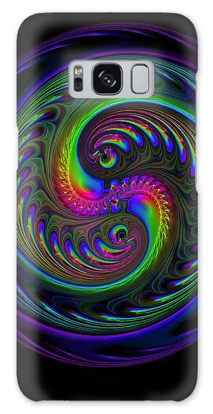 Koi Yin Yang Galaxy Case by Judi Suni Hall