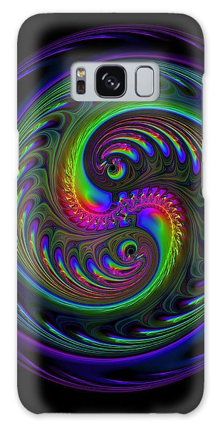 Koi Yin Yang Galaxy Case