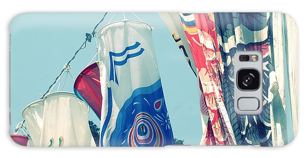 Koinobori Flags Galaxy Case by Rachel Mirror